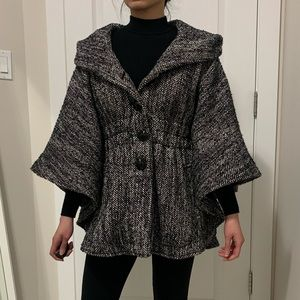 Steve Madden Wool-Like Cape Coat